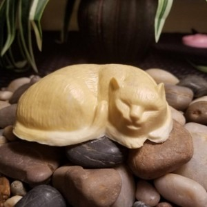 Set Of 2 *Cat Shaped Shea Butter & Oatmeal Soap, Great Gift for Cat Lovers*