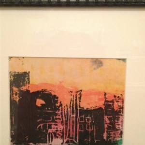 SALE 10 Dollars Off of City Day, City Night Abstract Painting