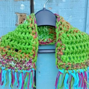 Toddler scarf, Kid's scarf, Stay in place