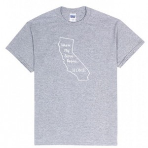 California State T Shirt, Where My Story Begins... Home State T Shirt FREE SHIPPING