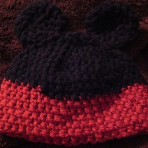 Mickey Mouse hat for 12-18 Month Baby
