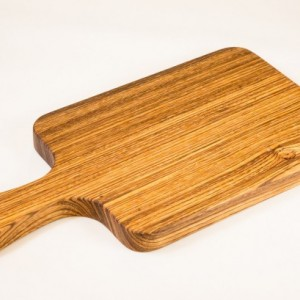 Zebrawood Cutting Board, Bread Board, Cheese Board, Charcuterie Board