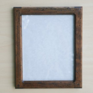 Forever 8 x 10 Distressed  Cherry picture frame
