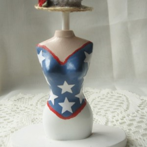 The Patriot (mini dress form)