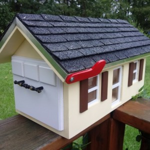 Wood Mailbox Custom Colors
