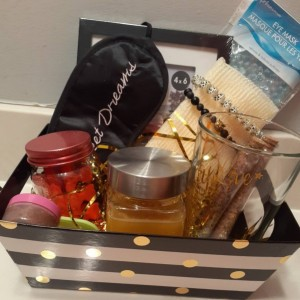 Care Package/Sprinkle Gift/Thinking of You Basket/Self Care Gift/Birthday Basket/Spa Gift Set