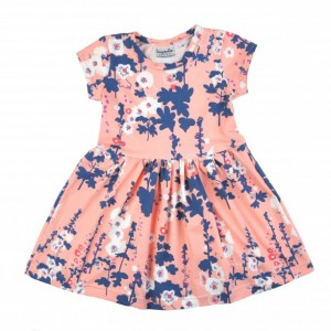 Alice Play Dress | Peachy Pink