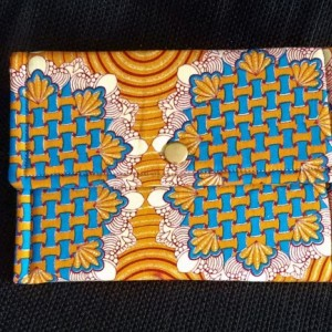 Snap Pouch - Ornate Orange