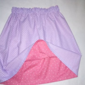 Polka Dot Reversible Skirt