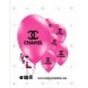 Chanel Pink  Balloons