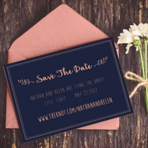 Navy and Coral Save the Date, Save the Date, Preppy Wedding, Summer Wedding, Save The Date Printable, DIY Wedding, Instant Download,