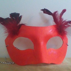 """""""Fire Elemental"""" Cosplay/Masquerade Mask"""