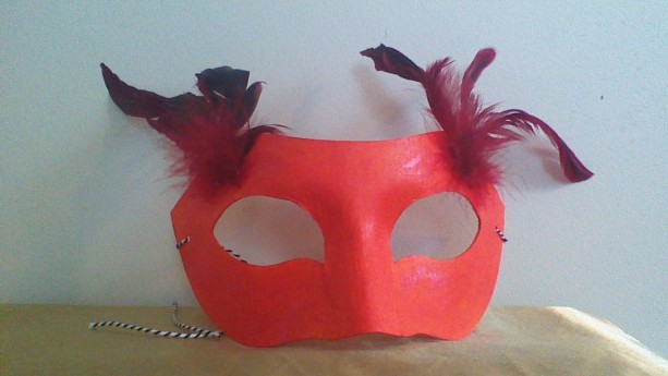 """Fire Elemental"" Cosplay/Masquerade Mask"