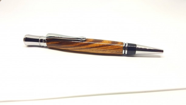 Handcrafted Zebrawood Executive pen