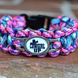 Cowgirl Up Paracord Bracelet