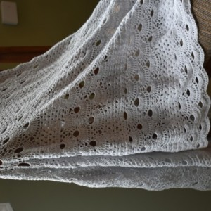Hand Crocheted Women's Oversized Shawl