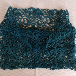 CloverField Cowl in JadeBlue