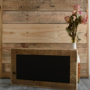 Extra Large Reclaimed Wood Chalkboard Block