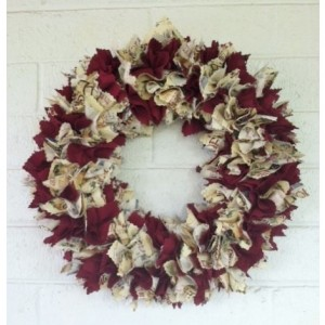 Traditional Christmas Wreath, Christmas Door Wreath, Fireplace Wreath