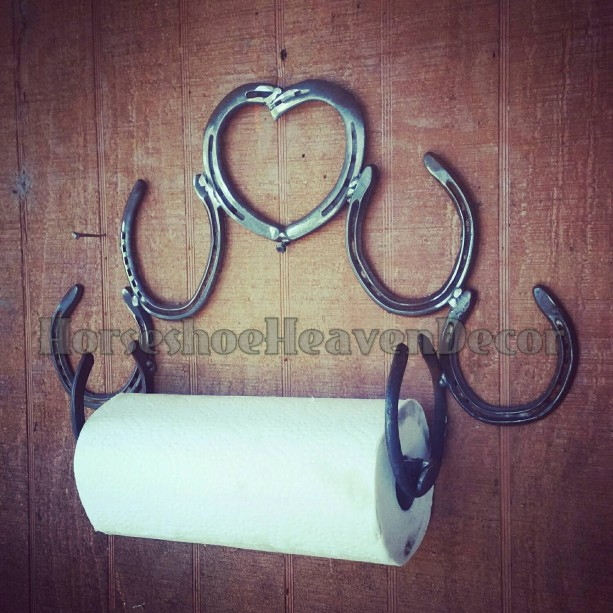 Kitchen paper towel holder, Country Home decor, Rustic country metal art, Heart Home decor, rustic metal art, kitchen accessories, country