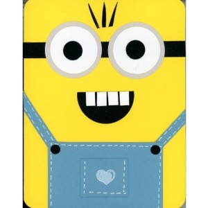 Minion birthday cards-set of 5