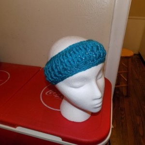 Crocheted LauraLie Headband / Earwarmer