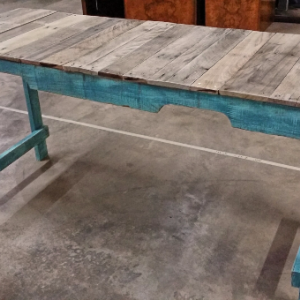 Shabby Handmade Distressed Reclaimed Wooden Pallet Sofa Table