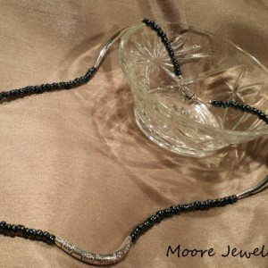Black & Silver Inverting Necklace