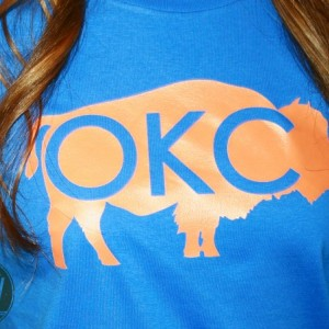 Oklahoma City Thunder Bison T-Shirt