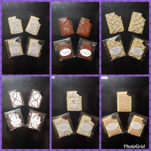 Polymer Clay Pop Tart Fridge Locker Magnets, Miniature food, realistic food