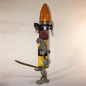 Black Flag the Pirate Assemblage Robot