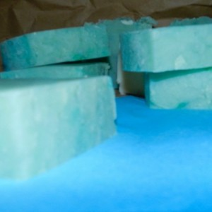 Mint Bayrum Soap Hot Processed Soap 2 Pck