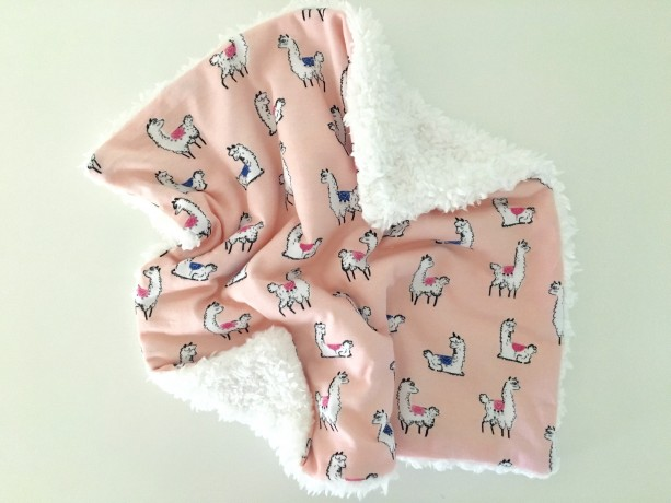 Llama Lovey Security Blanket Blanquet Baby