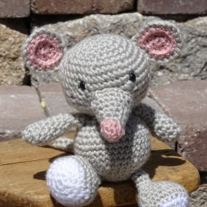 Mouse, Plush Mouse, Amigurumi Toy, Crocheted Mouse, Baby Shower Gift