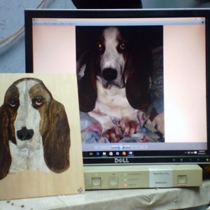 JERRY'S COLORED WOOD BURN PET IMAGES