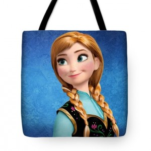 Princess Anna Frozen Tote Bag