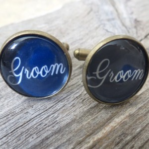 Groom Cufflinks - Wedding Cufflinks - Cufflinks For Groom - Groom Jewelry - Groom Accessories - Gift For Groom - Wedding Accessories