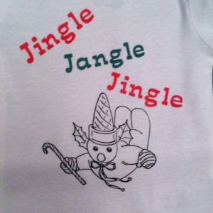 Hand Made Mr. Bingle Toddler T - Shirt