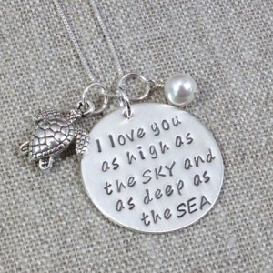 Daughter Gifts | Teen Gifts | Granddaughter Gifts | Girlfriend Gifts | I Love You As High As The Sky And As Deep As The