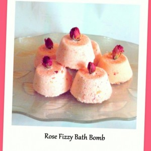 Natural Rose Soap & Bath Fizzy