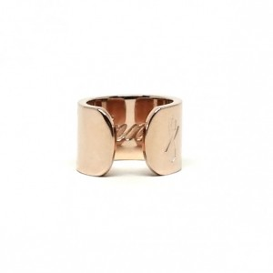 TALL SINNER RING: ROSE GOLD (MATTE)