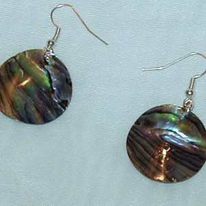 Abalone Pierced Earrings