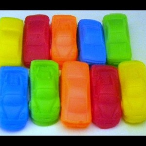 Car Soap - Mini Race Cars - 20 Soaps - Cars - Soap for Boys - Party Favors, Birthdays