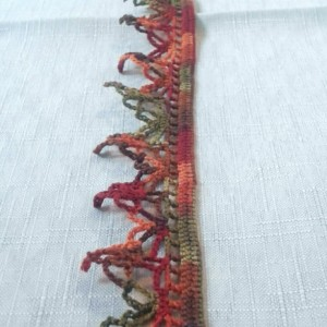"""NeckLACE in Autumn Spice (17"""")"""