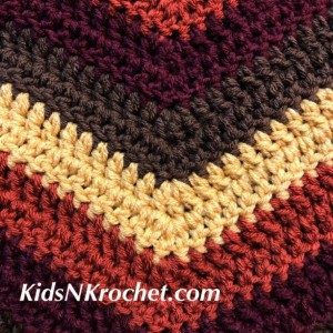 Fall throw blanket / Chevron / lapghan / lap blanket / wheelchair blanket / Afghan