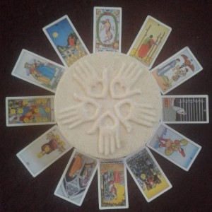 Tarot Card Inside Bath Bombs Set of 2