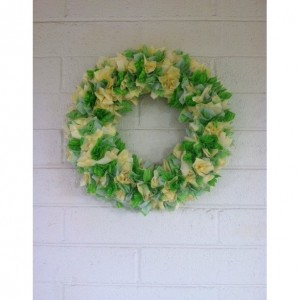 Spring Garden Wreath, Spring Front Door Wreath, Door Wreath