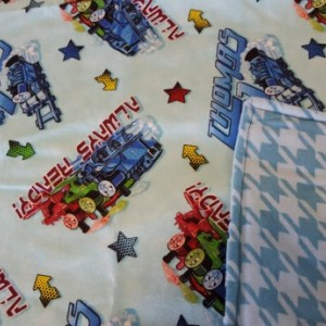 Thomas The Train Flannel Baby Blanket