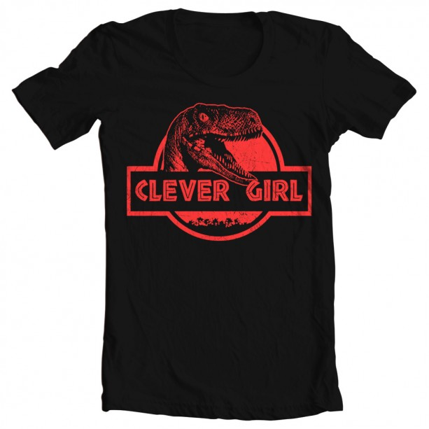 Clever Girl: Men's Jurassic World Clever Girl Tee