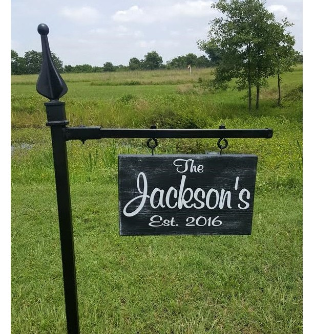 Yard Signs Personalized, Garden Signs, House Signs, Personalized Gifts, Housewarming Gifts, #1